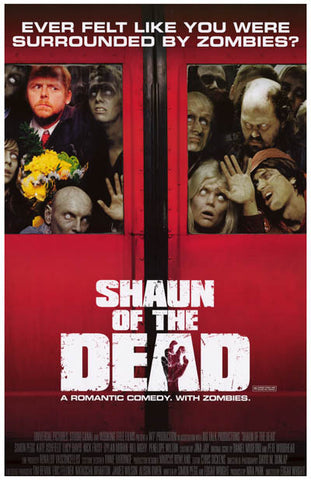 Shaun of the Dead Rom-Com with Zombies 11x17 Poster