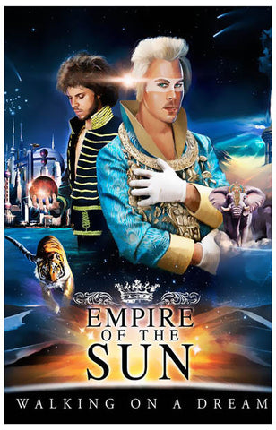Empire of the Sun Band Poster