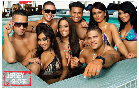 Jersey Shore TV Show Poster