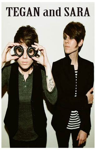 Tegan & Sara Under Feet Like Ours Portrait 11x17 Poster