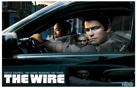 The Wire Game Remains the Same  11x17 Poster