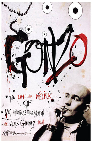 Gonzo Life & Work of Hunter S Thompson 11x17 Poster