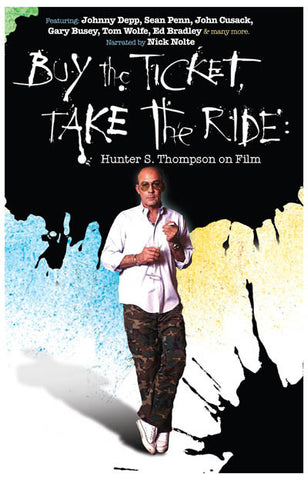 Buy the Ticket Take the Ride Thompson 11x17 Poster