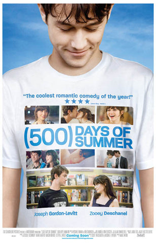 500 Days of Summer Coolest Rom-Com Collage 11x17 Poster