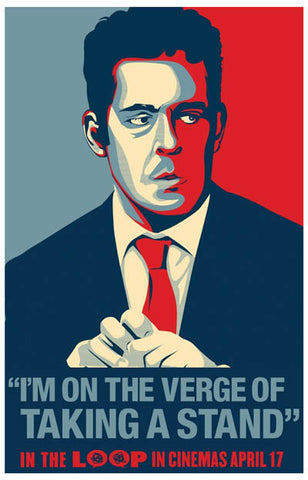 In the Loop Tom Hollander On the Verge 11x17 Poster