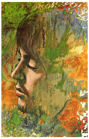 Paul McCartney Let It Be Psychedelic Art 11x17 Poster