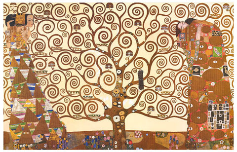 Gustav Klimt Tree of Life Art 11x17 Poster