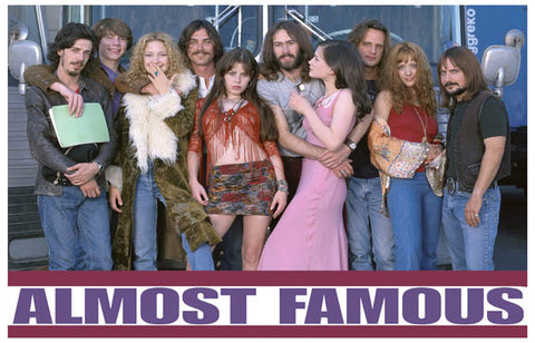 Almost Famous Film Cast Cameron Crowe 11x17 Poster