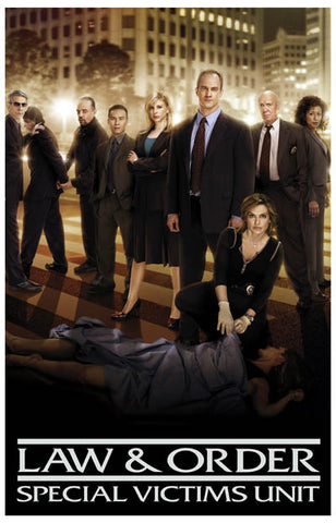 Law & Order Special Victims Unit Cast 11x17 Poster
