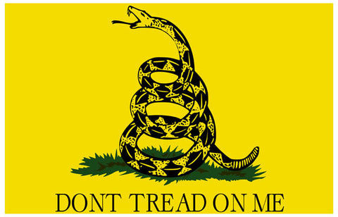 Don't Tread On Me Gadsden Flag USMC 11x17 Poster
