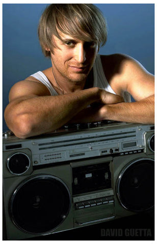 David Guetta Boom-Box Buddy One More Love 11x17 Poster