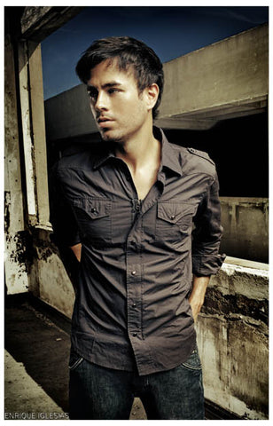 Enrique Iglesias Voice of Mexico Portrait 11x17 Poster