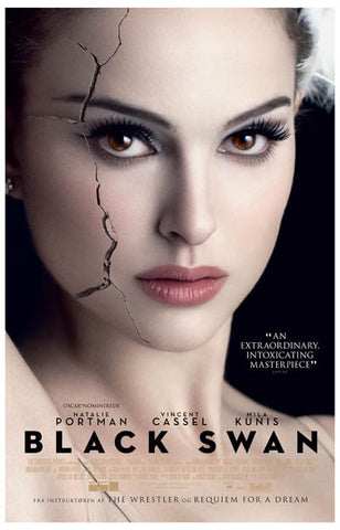 Black Swan Cracked Actress Natalie Portman 11x17 Poster
