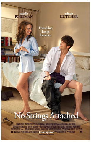 No Strings Attached Friends With Benefits 11x17 Poster