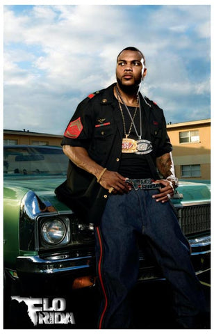 Flo Rida Only One Flo Only One Rida 11x17 Poster