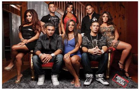 Jersey Shore Cast in Living Room 11x17 Poster