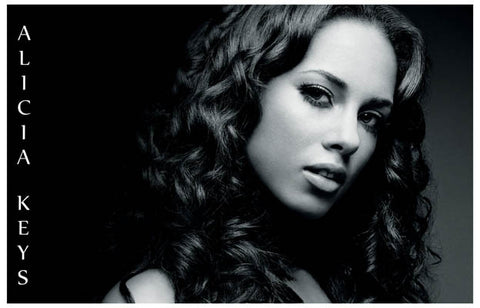 Alicia Keys Portrait Poster
