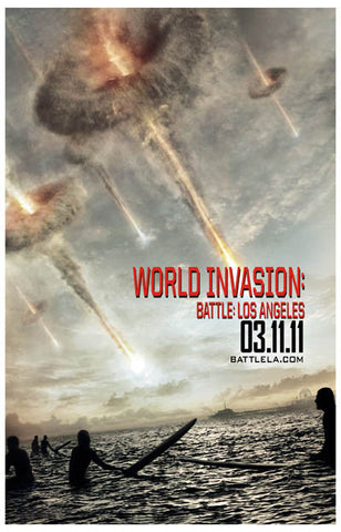Battle: Los Angeles World Invasion 11x17 Poster