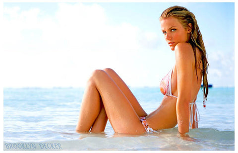 Brooklyn Decker Swinsuit Poster