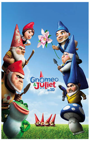 Gnomeo and Juliet Montagues & Capulets 11x17 Poster