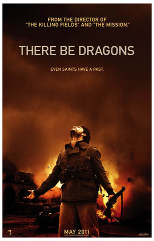 There Be Dragons Saints Have a Past Cox 11x17 Poster