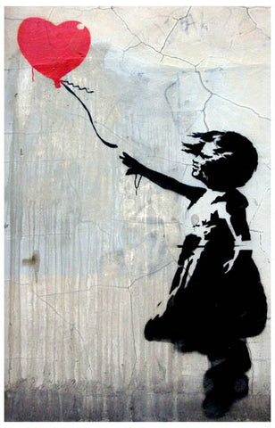 Banksy Balloon Girl Poster