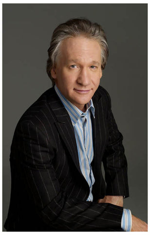 Bill Maher Real Time Portrait 11x17 Poster