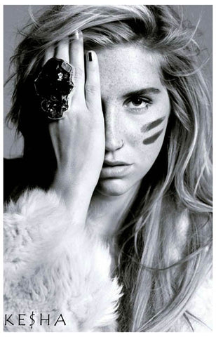 Kesha See No Evil Portrait Animal Ke$ha 11x17 Poster