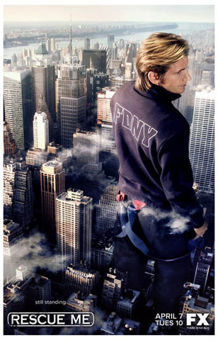 Rescue Me Still Standing Denis Leary FDNY 11x17 Poster