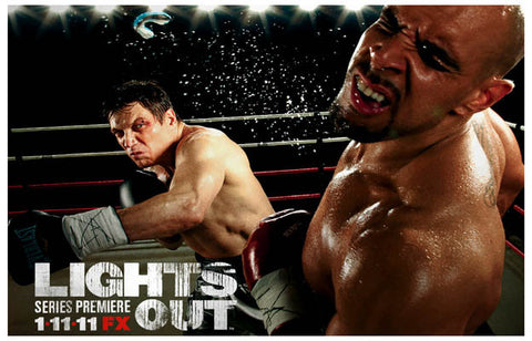 Lights Out Comeback Lights Leary FX TV 11x17 Poster
