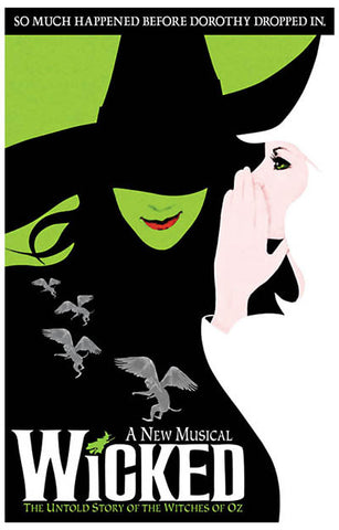 Wicked Broadway Musical Poster