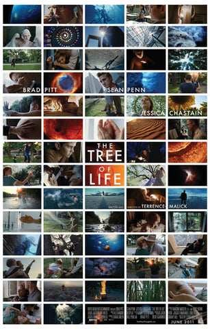 The Tree of Life Film Mini Pics Sean Penn 11x17 Poster