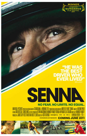 Senna Documentary Movie Poster