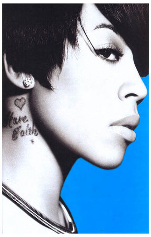 Keyshia Cole Calling All Hearts Tattoo 11x17 Poster