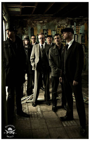 Flogging Molly Speed of Darkness Dave King 11x17 Poster