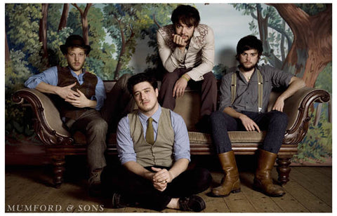 Mumford and Sons Nashville Class Portrait 11x17 Poster