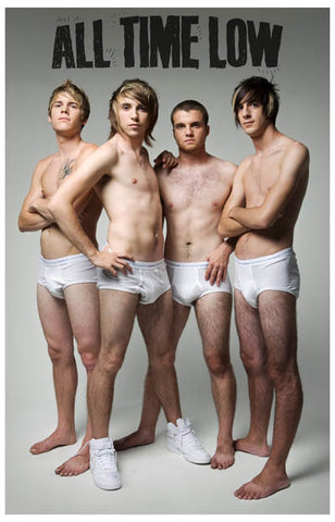 All Time Low Band Poster