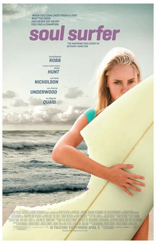 Soul Surfer Bethany Hamilton Biopic Robb 11x17 Poster