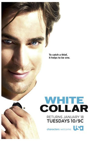 White Collar To Catch A Theif Matt Bomer 11x17 Poster