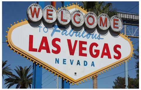 Welcome to Fabulous Las Vegas Nevada Sign 11x17 Poster