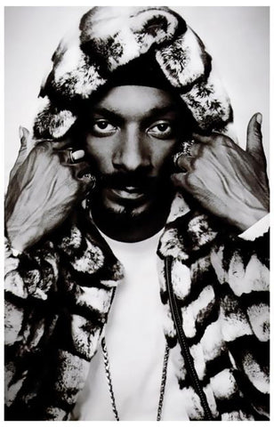 Snoop Dogg Portrait Poster
