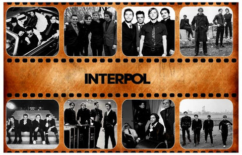 Interpol Band Poster