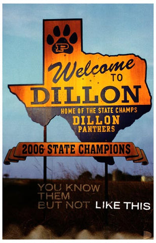 Friday Night Lights Welcome to Dillon TX 11x17 Poster