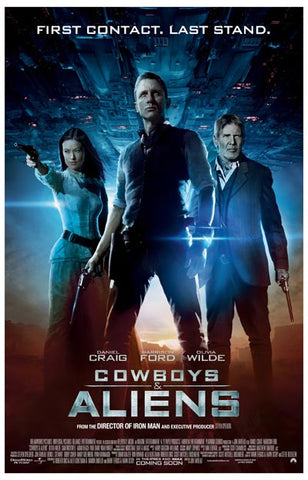 Cowboys & Aliens First Contact Last Stand 11x17 Poster