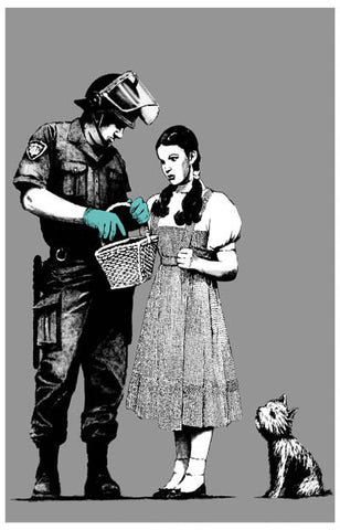 Banksy Dorothy Police Search Poster