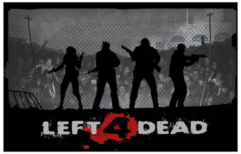 Left 4 Dead Game Francis Bill Zoey Louis 11x17 Poster