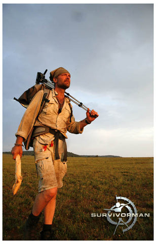 Survivorman Into the Sunrise Les Stroud 11x17 Poster