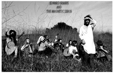 Edward Sharpe and the Magnetic Zeros Poster