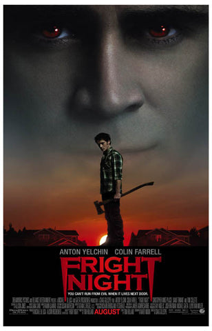 Fright Night Evil Lives Next Door Farrell 11x17 Poster
