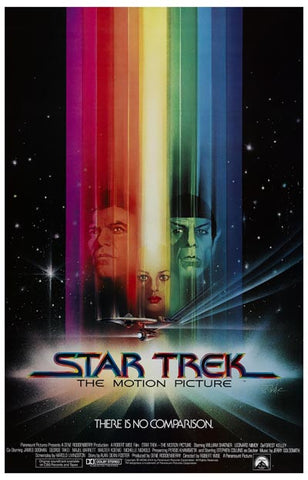 Star Trek The Motion Picture Shatner Nimoy 11x17 Poster